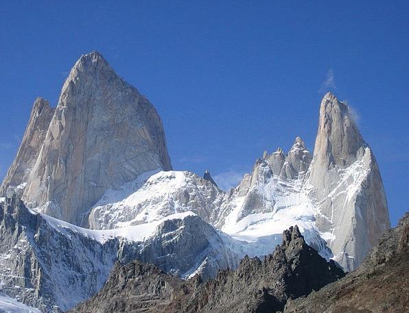 Fitz Roy Mountains Crags Cerro Torre Climb Argenti