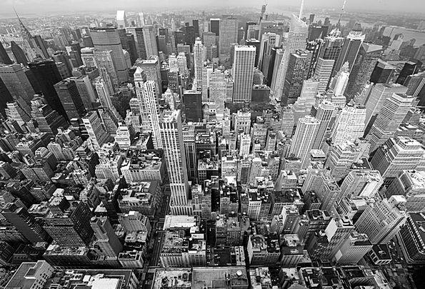 City Urban Buildings Architecture United States Ne