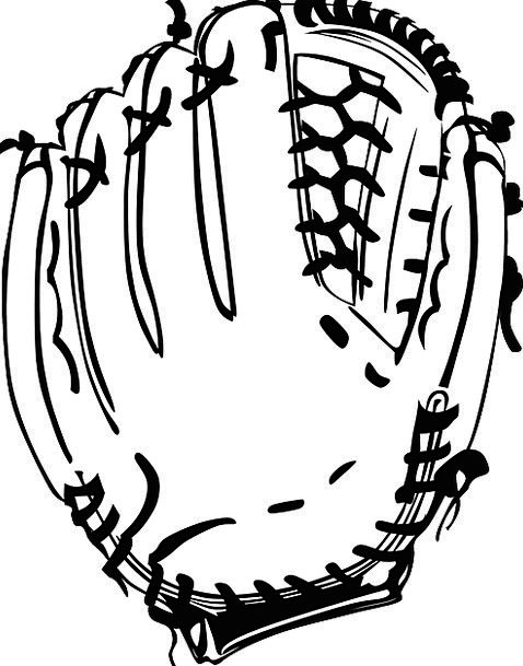 Baseball Sporting Glove Sports Gloves Ornaments Re