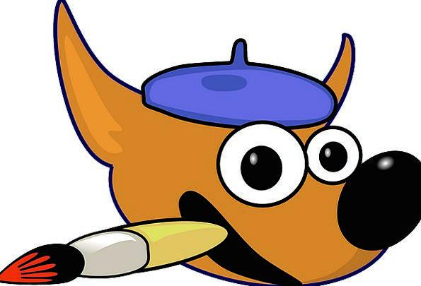 gimp symbol painter logo artist cartoon paintbrush image