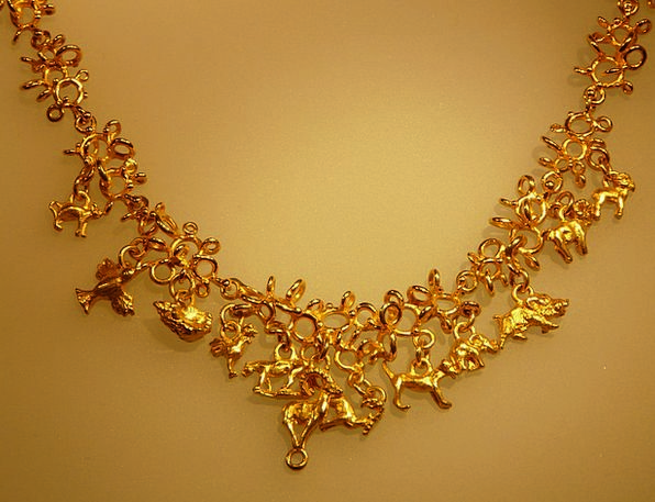Gold Chain Cable Jewellery Chain Gold Gilded Valua