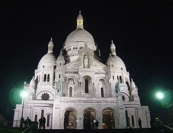 Church Ecclesiastical Architecutre Sacre Coeur Par