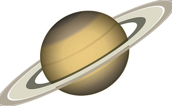 Saturn Earth Solar System Space Planet Outer Space