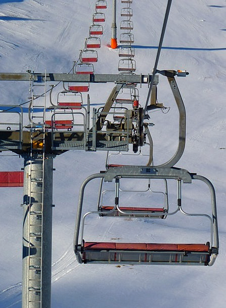 Chairlift Boost Skiing Lift Gondola Cable Car