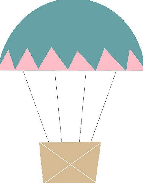 Balloon Inflatable Vacation Trip Travel Basket Bag