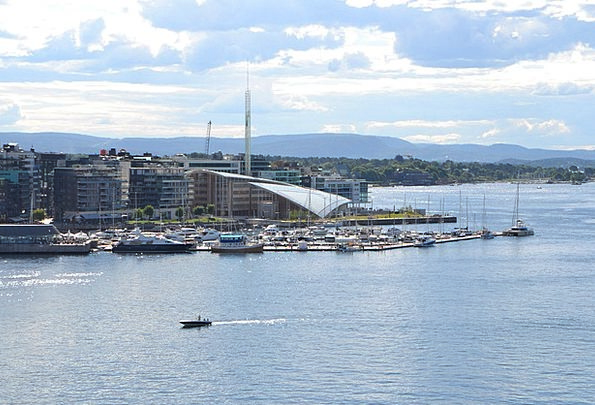 Oslo Port Harbor Norway The Oslo Fjord
