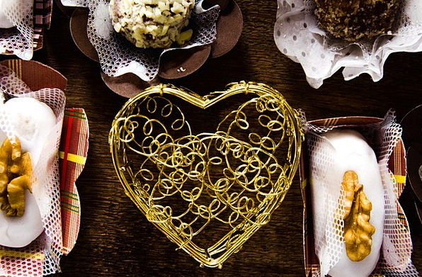 Pastry Pie Emotion Decoration Beautification Heart