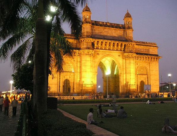 India Buildings Architecture Bombay Mumbai Goal Go