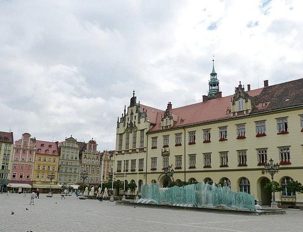 Wroclaw Bazaar Wroc?aw Marketplace Space Poland La