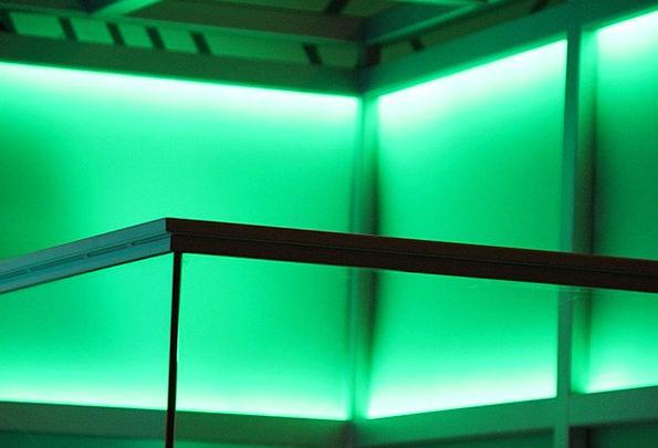 Green Lime Bright Lighting Illumination Light Exhi