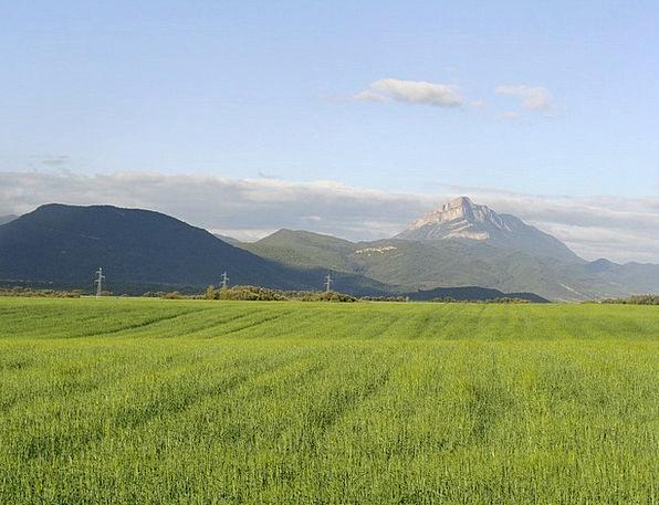 Oroel Landscapes Nature Santa Cilia Huesca Landsca