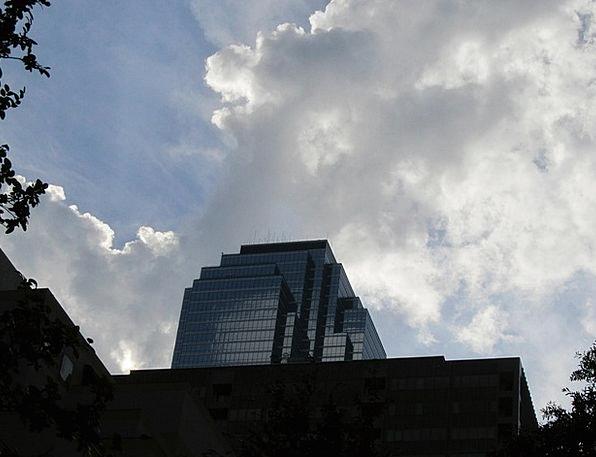 Dallas Office Buildings Buildings Blue Architectur