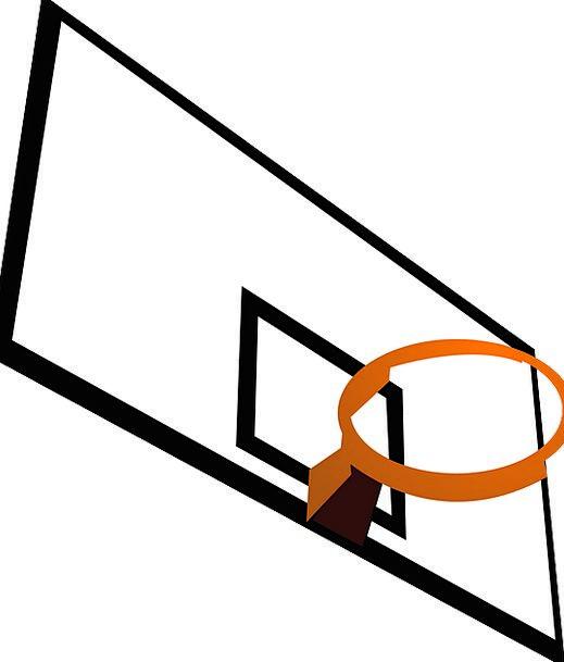 Backboard Edge Basketball Rim Victory Sports Sport