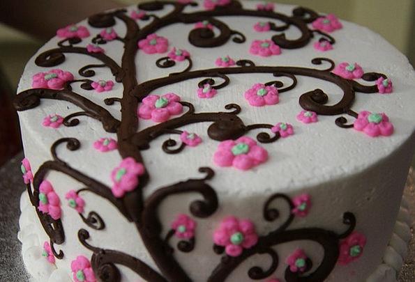 Cake Bar Pudding Icing Dessert Birthday Birthdate