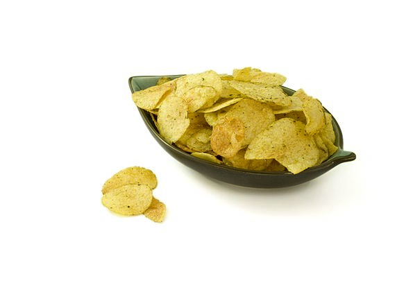 Crisps Drink Ball Food Salt Salty Bowl Chips Potat