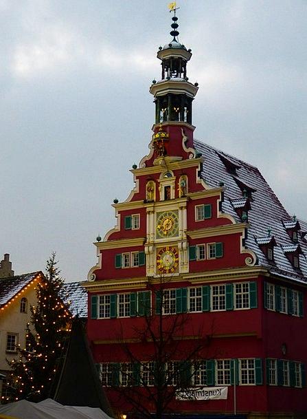 Esslingen Buildings Architecture Christmas Market