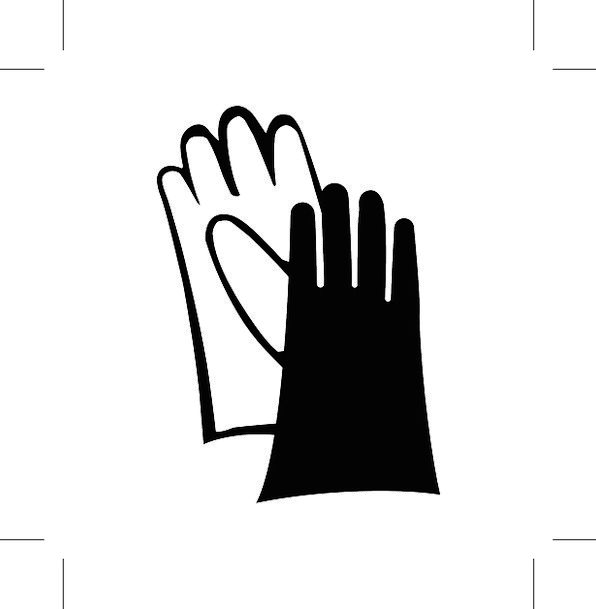 Gloves Ornaments Wear Attire Hand Protection Sign Symbol Icon