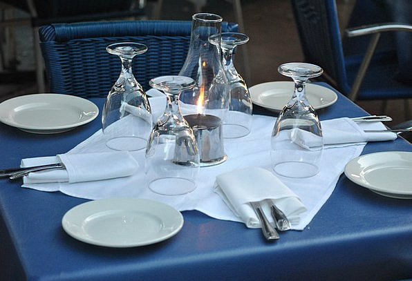 Restaurant Eatery Bench Setting Location Table Hot