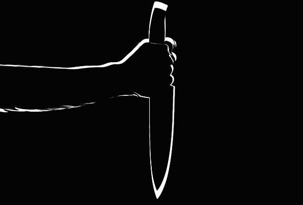Knife Blade Sharp Stab Attempt Stabbing Killer Kil