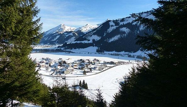 Tyrol Grän Tannheimertal Winter Season Snow Sky Pa