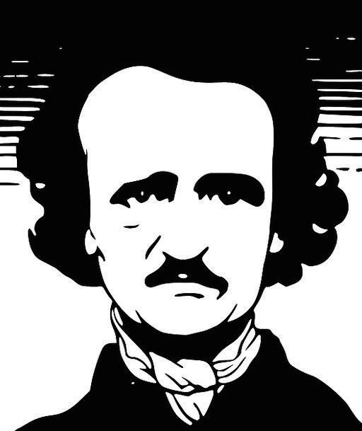 Edgar Poe Allan Free Vector Graphics American Crit
