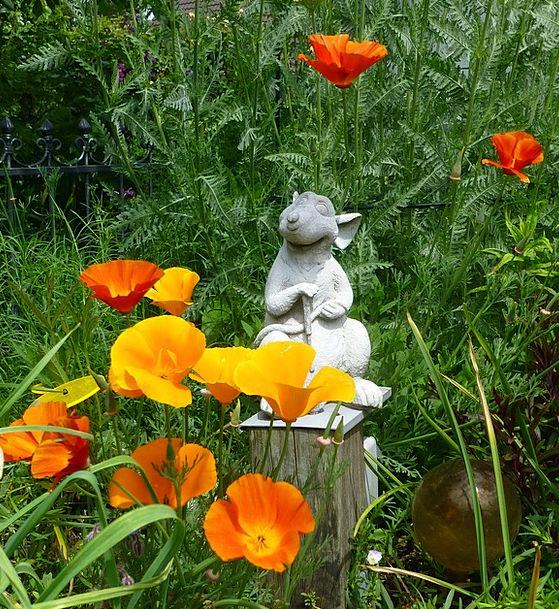 Gartendeko Horticulturist Gold Poppy Gardener Slee