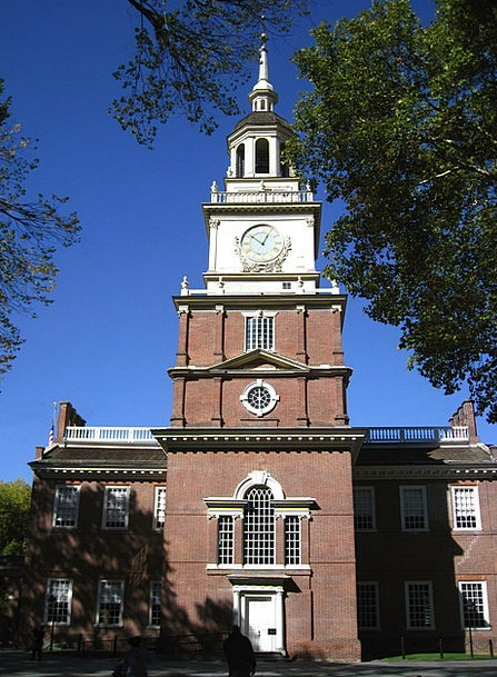 Philadelphia Monuments Places Independence Hall Pe