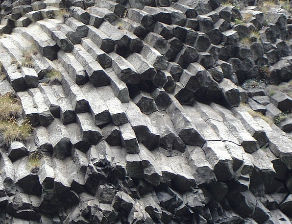 Basalt Columnar Basalt Basalt Column Cascade Du Ra