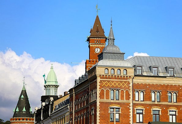 Helsingborg Historic Buildings Town Hall