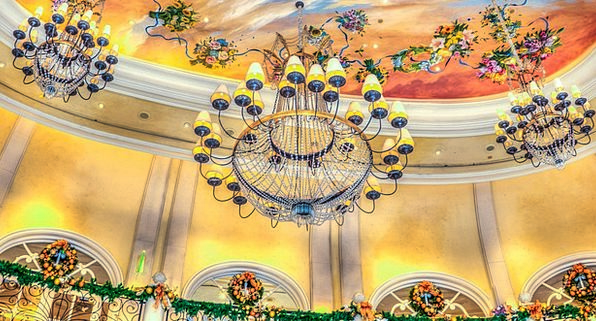 Chandelier Buildings Architecture Las Vegas Bellag