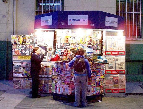 Newsstand Stand Chile Valparaiso