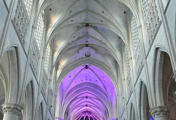 Church Ecclesiastical Structure Vaults Arches Buil