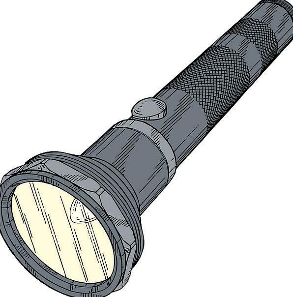 Torch Incinerate Penlight Torchlight Beam Flashlig