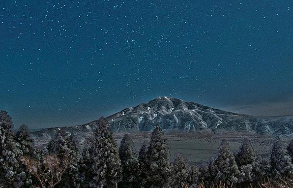 Aso Interstellar Night Nightly Star Volcano Japan
