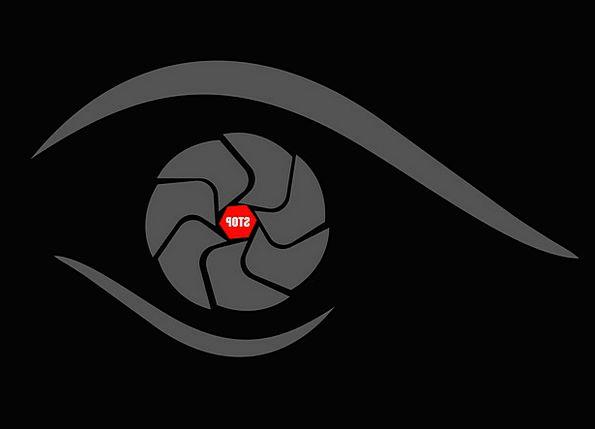 Lens Eye Judgment Camera Studio Black Dark Theme G