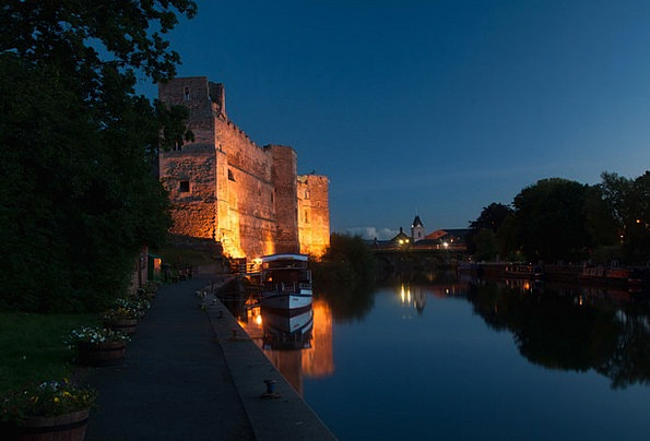 Castle Fortress Monuments Nightly Places Trent Nig