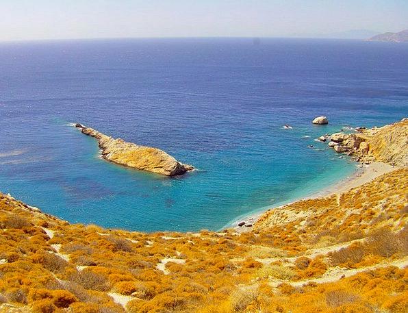 Folegandros Isle Islands Isles Island Sea Marine