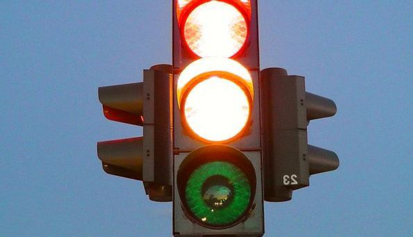 Traffic Lights Traffic Transportation Signal Lamp