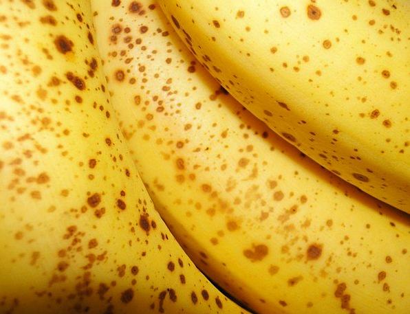Bananas Crazy Drink Creamy Food Spots Acnes Yellow