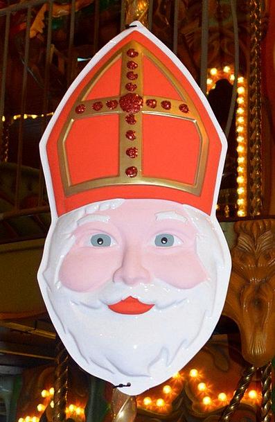 Saint Nicholas Saint Mitre Mask Cover Sint Nicolaa