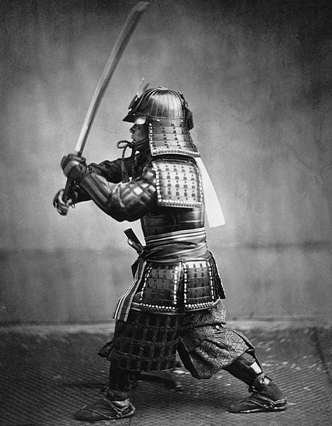 Samurai Soldier Samurai Fighter Warrior 1860 Samur