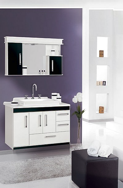 Cabinet Cupboard Lavatory Environment Setting Bath