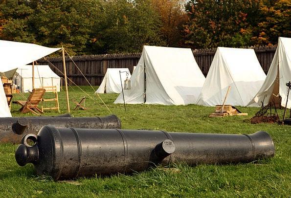 Cannon Gun Monuments Site Places War Camp Actors C