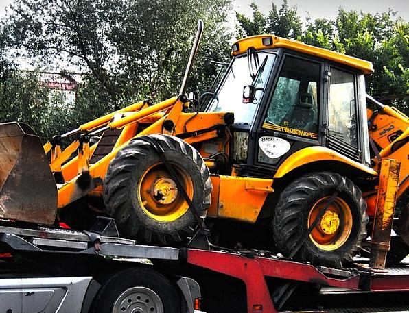Excavators Diggers Traffic Spade Transportation Tr