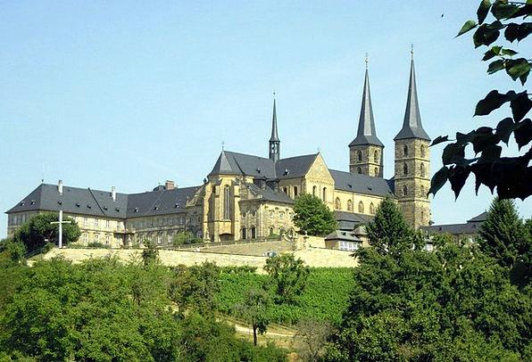 Michel Mountain Cloister Bamberg Monastery