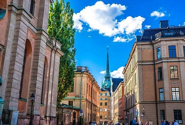 Stockholm Buildings Architecture Gamla Sweden Urba