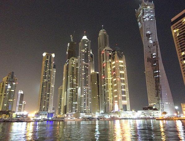 Dubai Towers High-Rises Skyscrapers United Arab Em