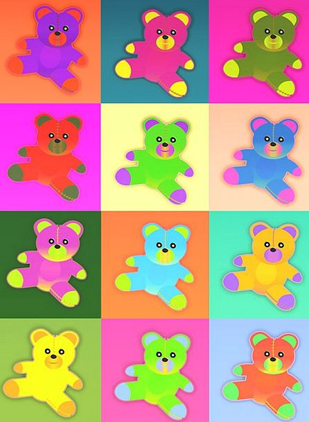 Teddy Bear Textures Backgrounds Plush Toys Teddy B