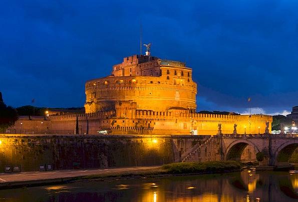 Castel Sant'Angelo Buildings Architecture Mausoleu
