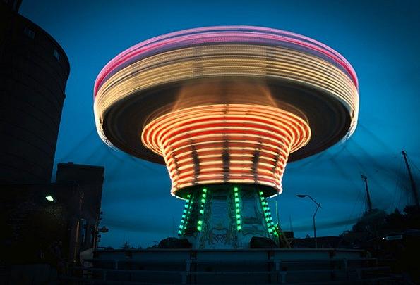 Chain Carousel Merry-go-round Oktoberfest Carousel